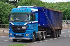 ARR Craib Mercedes Actros SV08BXY on the A90, Dundee, 20/6/16 (andyflyer) Tags: truck mercedes transport lorry a90 haulage hgv actros roadtransport arrcraib sv08bxy