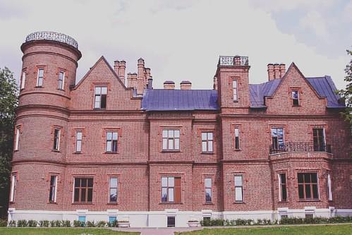Замок Щербаковых в усадьбе Васильевское