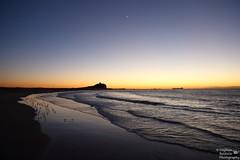 0D6A1184 - Newcastle Cliche' Sunrise (Stephen Baldwin Photography) Tags: ocean light sea house beach water sunrise newcastle dawn sand ship australia tags nsw tugs cliche nobbys sunriseclichenewcastlenswaustraliashiptugswateroceanbeachseasanddawnlighthousenobbys