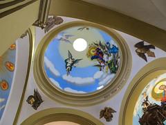 """Trujillo: le plafond au-dessus de l'autel de la Cathédrale <a style=""""margin-left:10px; font-size:0.8em;"""" href=""""http://www.flickr.com/photos/127723101@N04/27772353096/"""" target=""""_blank"""">@flickr</a>"""