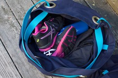 gym bag packed (foxthreads) Tags: beach bag sewing gym tote