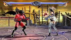 The Battle of Darkness (Cliffather) Tags: soulcalibur namco videogame fightinggame ps3game upskirt