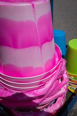 Abstract inverted (S's images) Tags: plastic bucket spade pink bognor regis esplanade summer