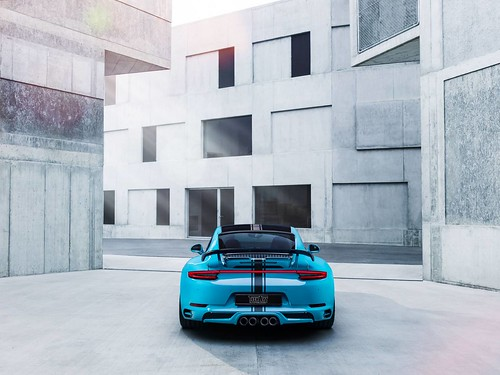 Porsche 911 Carrera S от TechArt