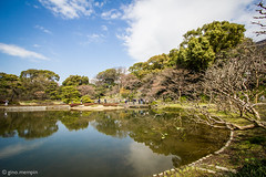 Japan.2016.020 (ginomempin) Tags: pond trees clearskies reflection imperialpalacegardens tokyo japan wide canon1022