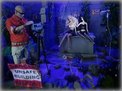 Bad Idea #216 (MiskatonicNick) Tags: spooky mina 16 diorama blueangel bridesofdracula sixthscale toyville playscale poppyparker