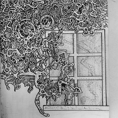 Flower on a window sill (nikita_grabovskiy) Tags: pictures abstract black color art colors collage tattoo modern pen pencil print creativity design sketch cool artwork paint artist pattern arte image artistic drawing contemporary surrealism patterns paintings arts creative picture surreal drawings mandala images dessin tattoos peinture doodle zen artists painter prints doodles create draw crayon henna sketches dibujo couleur pintura artworks doodling artista tatuaje paining artiste mandalas tatouage lpiz           zentangle zentangles