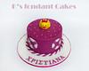 Cute duck Cake (K's fondant Cakes) Tags: pink white cake duck fondant ροζ πάπια λευκό τούρτα ζαχαρόπαστα