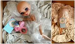 Box moment - Madeleine dolls (Pliash) Tags: make dark asian japanese doll dolls it full mocha mio groove pullip kit custom madeleine own madeleinedolls