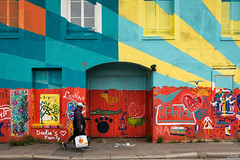 It's a street for kids ! (Julien Rode) Tags: street streetart couleurs portfolio rue ville insolite urbain personnage lehavre