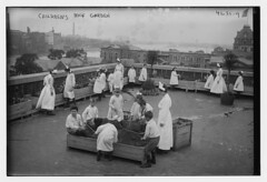 Chidren's roof garden (LOC) (The Library of Congress) Tags: libraryofcongress dc:identifier=httphdllocgovlocpnpggbain27159 xmlns:dc=httppurlorgdcelements11 rooseveltisland blackwellsisland newyork metropolitantrainingschoolfornurses