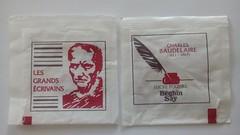 Srie Grands crivains - Baudelaire 01 (periglycophile) Tags: france sugar series packet say srie baudelaire grands sucre sachet crivains sucrology beghin priglycophilie