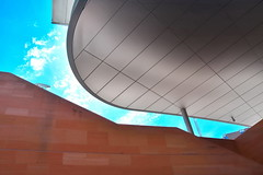LIVERPOOL 1606232512 (Harry Halibut) Tags: roof art public glass liverpool shopping one contemporary steel centre curves curvy images lattice stainless allrightsreserved precinct merseyside liverpoolarchitecture liverpoolbuildings colourbysoftwarelaziness imagesofliverpool publicartinliverpool 2016andrewpettigrew