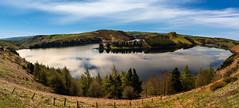 Llyn Clywedog Panoramic (Howie Mudge) Tags: uk sky cloud mountain lake tree beautiful wales landscape photography nikon scenery ngc cymru panoramic panorma sigma1020mm llynclywedog d7100 howiemudge2013