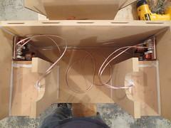 Crossovers mounted (burritobrian) Tags: diy speaker boombox overnightsensations speakerbuild sd215a88