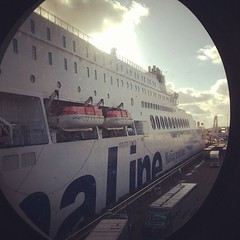 Currently at the Hook of Holland on the Stenaline ferry, England bound! So much better than flying ;) #holland #ferry #cruises #cruising (bvtw) Tags: square squareformat earlybird iphoneography instagramapp uploaded:by=instagram foursquare:venue=4f930dd2e4b0e8f4655e4d45
