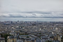 Clouds over Paris (TéGée) Tags: city houses sky storm paris france clouds grey gris day maisons roofs ciel nuages ville orage toits