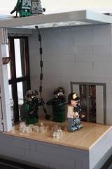 Deception Interior 1 (Andreas) Tags: lego military apc thepurge legodiorama legoapoc desertapoc thepurgeusa