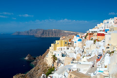 Oia (Tomsch) Tags: city houses sea buildings meer santorini greece stadt griechenland santorin gebude oia huser