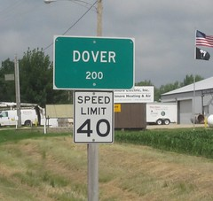 Dover, IL pop. 200 (Frog Is A Four Letter Word) Tags: roadtrip scooter buddy day1