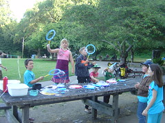 There was also a bubbles table (Tan Tachyon) Tags: bubbles morgan cayden afe 2013 harveywestpark alternativefamilyeducation