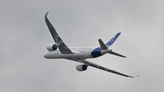 A350 XWB at Paris Airshow (pixagraphic) Tags: paris airshow 350 airbus lebourget testflight a350 siae xwb lesaloninternationaldelaéronautiqueetdelespace
