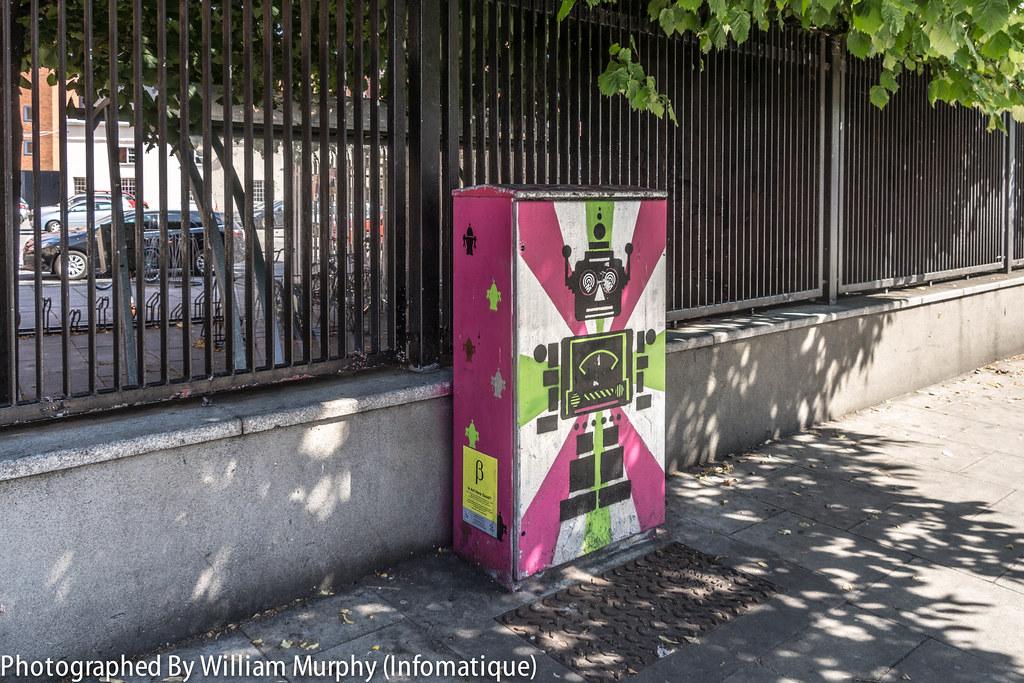 Streets Of Dublin - Street Art Outside Bolton Street College