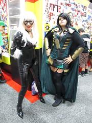 Black Cat & Loki (Docking Bay 93) Tags: san comic cosplay diego marvel con sdcc 2013