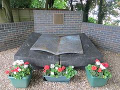 2013-062038E (bubbahop) Tags: park uk greatbritain england yard memorial unitedkingdom wwii polish worldwarii stable worldwar2 bletchley 2013 europetrip28