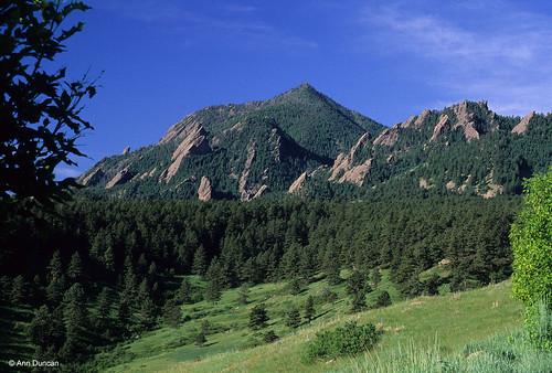 Photo - Bear Peak in spring.