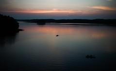Night on a Lake (@Tuomo) Tags: sunset lake zeiss finland t fisherman nikon scandinavia jyväskylä maisema kesä distagon rowingboat päijänne 35mm2 d700 zf2