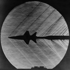 X-15 Model in Supersonic Tunnel