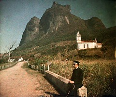 So Conrado a principios del siglo XX (germn :)) Tags: church riodejaneiro rural postcard iglesia igreja igrejinha 1914 pedra 1916 gavea saoconrado pedradagavea