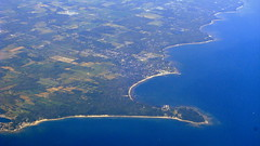 Lake Erie III - O Canada! (oobwoodman) Tags: lake ontario canada lakeerie aerial greatlakes thunderbay luftaufnahme aerien forterie cunyyz albinobay