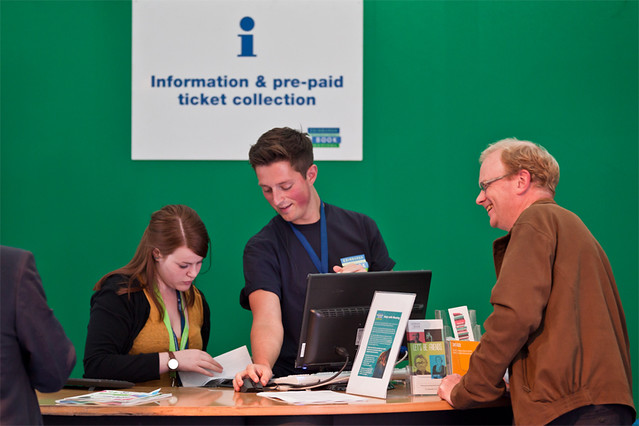 Our Info Desk staff - happy to help