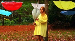 wander alone video teaser pics 2 umbrellas hanging off trees (Meri Amber) Tags: mus