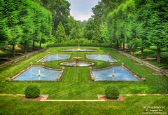 Italian Water Garden at Longwood Gardens (PhotosToArtByMike) Tags: flowers plants fountain gardens pennsylvania pa exotic botanicalgarden longwoodgardens kennettsquare peircedupont