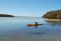 Kayaking on Narrawallee Inlet (John Panneman Photography) Tags: d50 nikon kayak australia kayaking nsw inlet shoalhaven narrawallee
