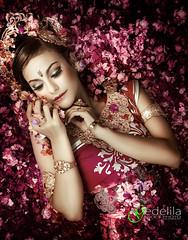 The Bali_IMG_1153a (gedelila) Tags: bali flower blanco tarian gadisbali gadiscantik
