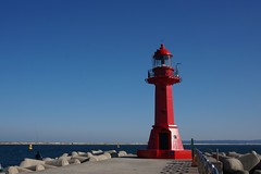 Light house (@cleansea) Tags: new light red sea lighthouse house port day fine korea east clear pohang yeongil