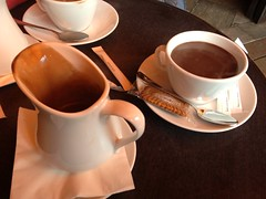 Hot Chocolate at Cafe Gambetta