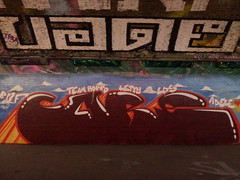 CARE Peppermint Bubble gum style wicked n wild. (Beauty Never Fades) Tags: london graffiti waterloo care