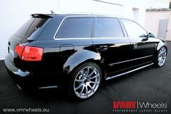 VMR Wheels V701 Hyper Silver - Audi RS4 Typ B7 (VMR Wheels Europe) Tags: silver wheels hyper audi 19 b7 rs4 vmr typ alufelgen felgen v701 aluräder