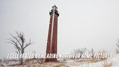 2014 Snow Storm in Grand Haven (randyr photography) Tags: snow storm haven michigan grand 2014 puremichigan