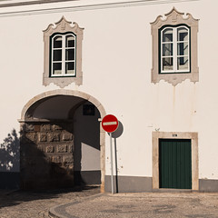 No Way (lennox_mcdough) Tags: street portugal window sign wall canon faro eos traffic archway algarve canonef50mmf14usm 5dmarkii takenin2013