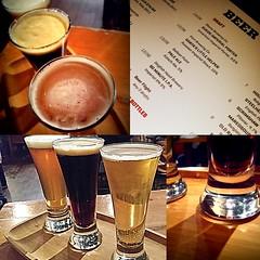 beer sampler collage (BellaGaia) Tags: beer pasadena brew 2014 mdpd