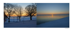South Shore North Shore (28 minutes) (sperophotography) Tags: lake water sunrise southshore tych mckinleymarina