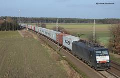 ES 64 F4 037 MRCE (vsoe) Tags: train germany deutschland engine siemens eisenbahn railway bahn 189 niedersachsen güterzug mrce es64f4 güterzugstrecke