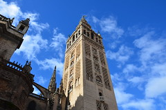 The Giralda, originally 12th century Almohad minaret (13) (Prof. Mortel) Tags: spain minaret seville andalucia giralda almohad