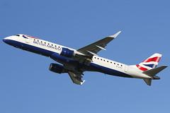 British Airways (BA CityFlyer) - Embraer ERJ-190SR - G-LCYJ (OPT Photos) Tags: britishairways southend sen e190 londonsouthend bacityflyer egmc glcyj embraererj190sr